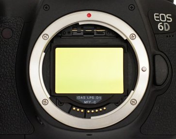 idas body mounted filter for canon full frame