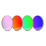 Baader RGB Filter Set 36 x 2mm Round, with UV/IR Cut L-Filter