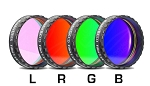 Baader RGB Filter Set 1 1/4