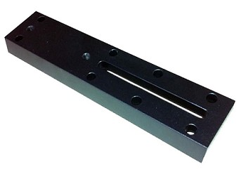 Dovetail Plate 178mm  - Black