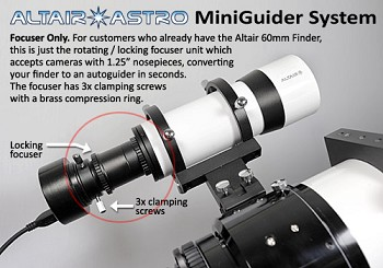 Precision Camera Focuser for auto guiding