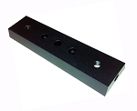 Dovetail Plate  / Bar 166mm  - Black