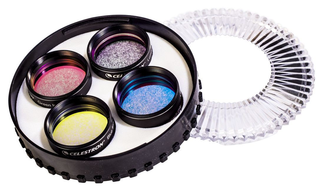Celestron LRGB imaging filter set