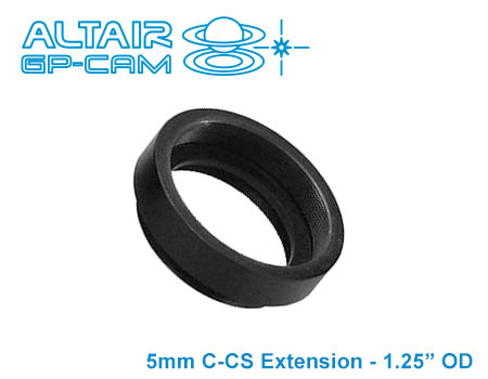 C-Mount Extension Adapter for CCTV Lens (for GPCAM BASIC)