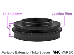 M48 Variable Locking Extension Ring