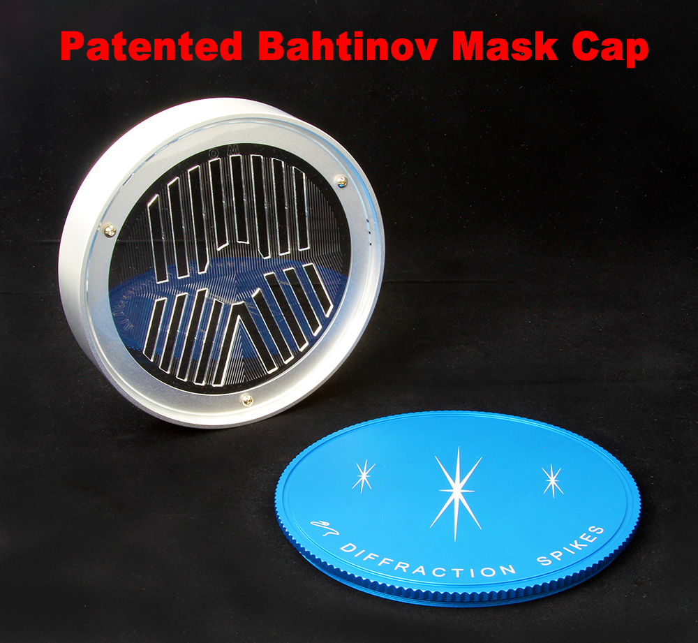 Bahtinov Mask Cover (Patented) for Takahashi FSQ106 Telescopes