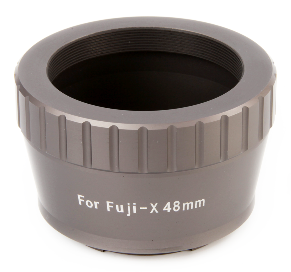 48mm T mount for Fuji FX - Space Gray
