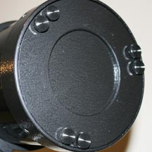 Celestron PowerSeeker 127 primary mirror collimation knobs