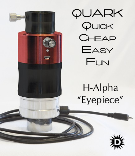 Daystar Filters QUARK H-Alpha eyepiece PROMINENCE MODEL