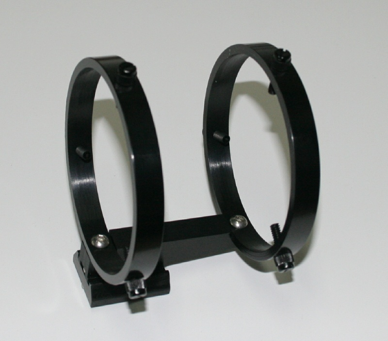 Finder scope bracket for 50mm finders with Vixen/Synta shoe