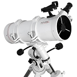 Explore FirstLight 114mm Newtonian Telescope with EQ3 Mount