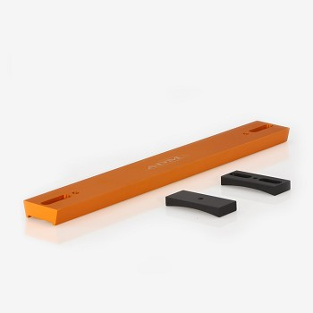 V Series Dovetail Bar For Celestron 8  SCT Telescope. Orange Anodized