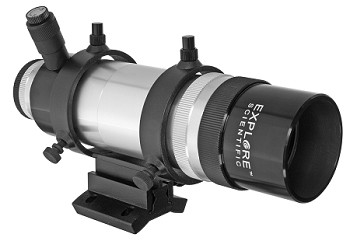 8x50 Illuminated Finder Scope with Bracket